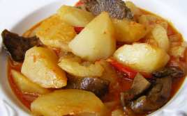 Patatas con Bacalao y Níscalos