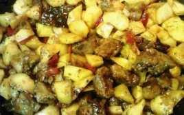 Patatas Con Costillas De Cerdo Al Orégano