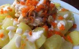 Patatas Con Pollo Y Mayonesa Ali Oli