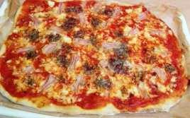 Pizza Casera con Cabrales