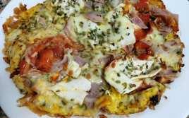 Pizza Casera de Tortilla