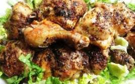 Pollo al Horno con Chimichurri