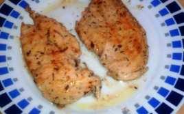 Pollo Macerado con Tomillo y Limón