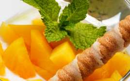 Postre de Frutas con Yogur