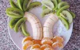 Postre De Palmeras De Tres Frutas