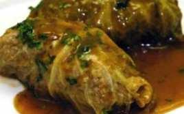 Rollitos De Repollo Rellenos De Carne