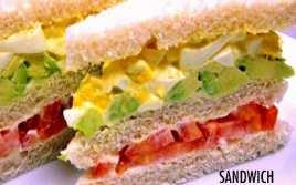 Sandwich Triple Clásico Peruano con Pan Elaborado por Uno Mismo