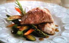 Secreto de Cerdo Ibérico con Verduras