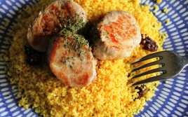 Solomillo con Cuscús al Curry