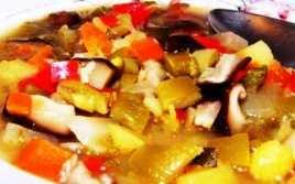 Sopa De Verduras Especial