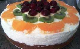 Tarta Casera de Frutas