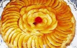 Tarta de Manzanas con Base de Galletas