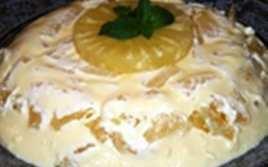 Tarta de Piña Fría