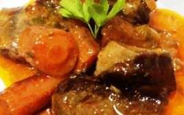 Ternera en Salsa con Zanahorias