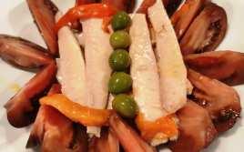 Tomates del Terreno con Ventresca de Bonito