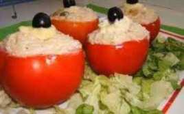 Tomates Rellenos de Ensaladilla