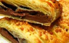 Trenza de Chocolate con Hojaldre