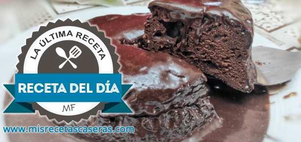 RECETA DEL DÍA: Brownie de Chocolate Rápido