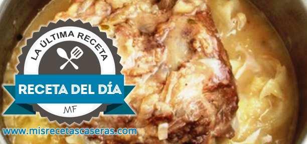 RECETA DEL DÍA: Cerdo con Salsa de Col
