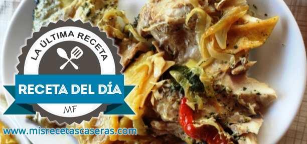 RECETA DEL DÍA: Corvinas al Horno con Patatas y Verduras