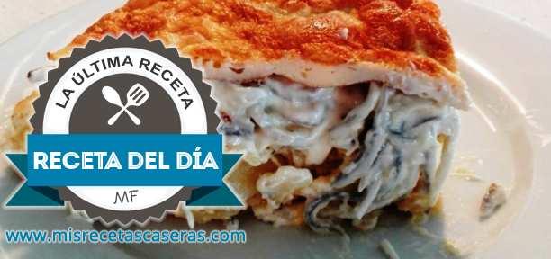 RECETA DEL DÍA: Tortilla Rellena de Gulas con Ali oli