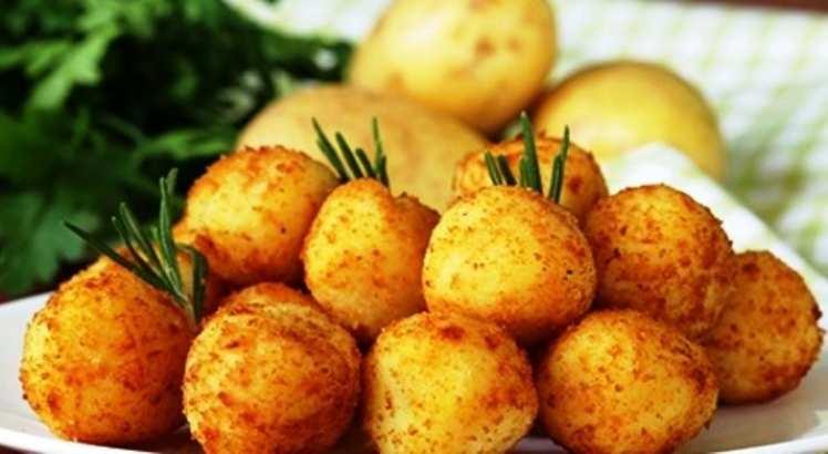 Albóndigas de Patata y Sobrasada