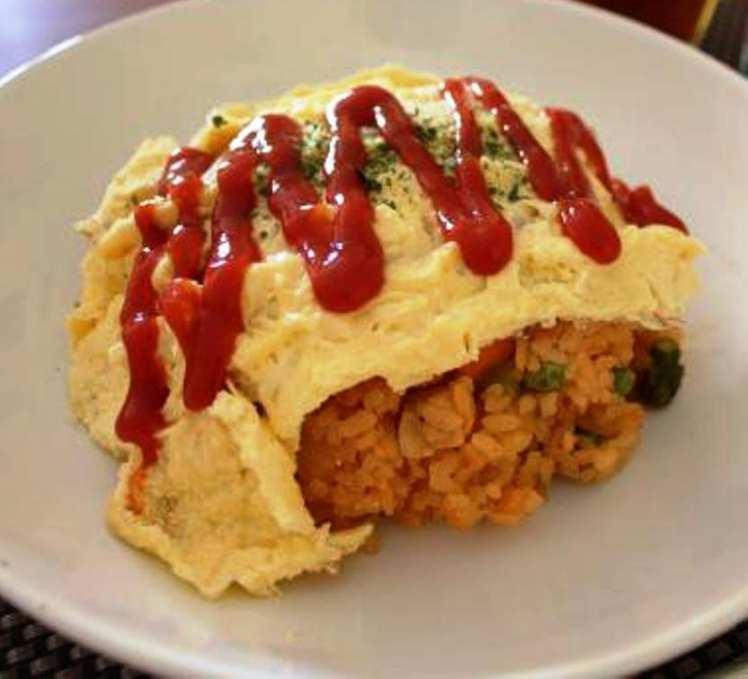Arroz con Tortilla