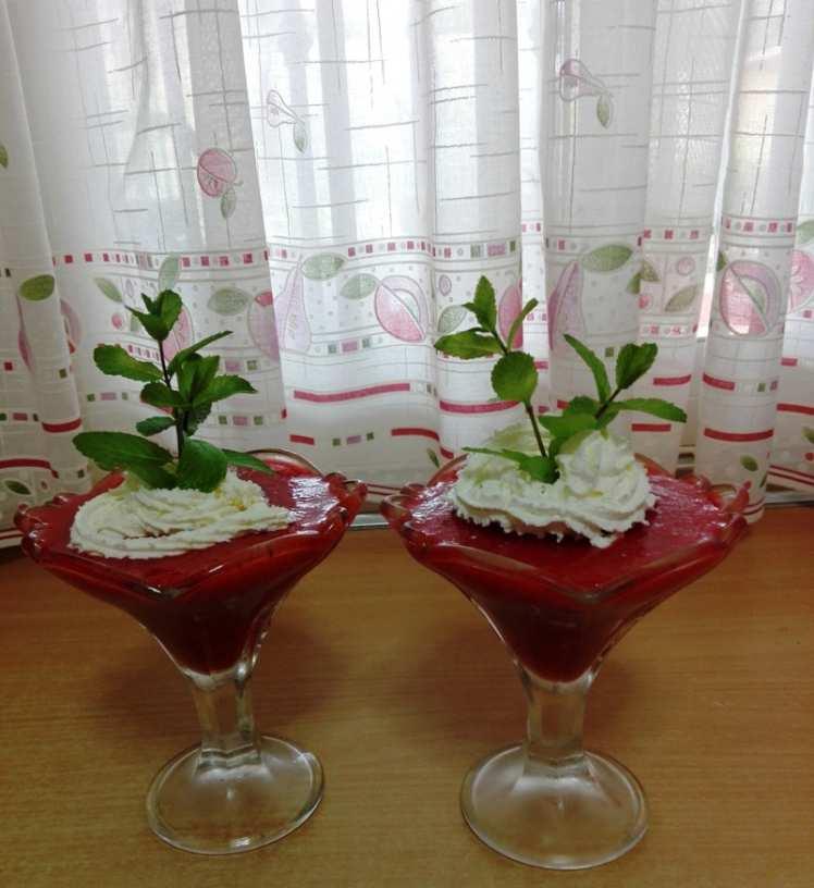 Batido de Fresas con Nata
