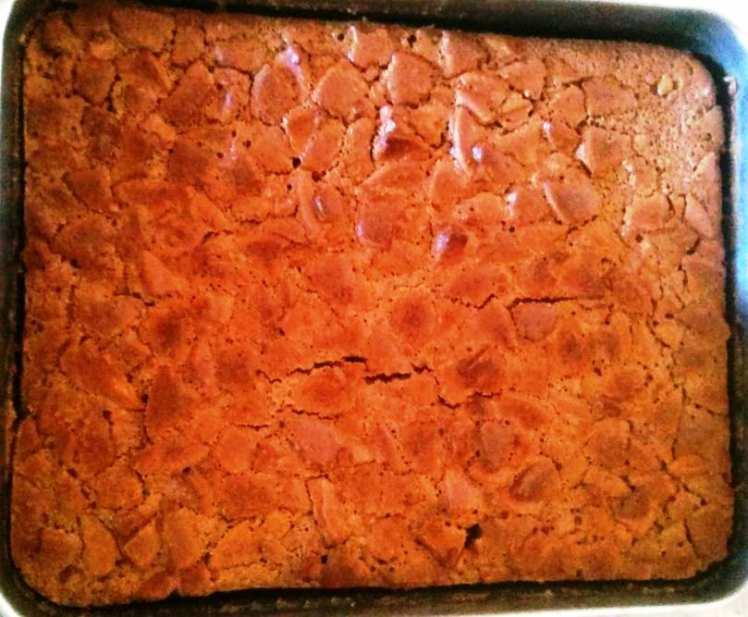 Brownie Casero con Galletas