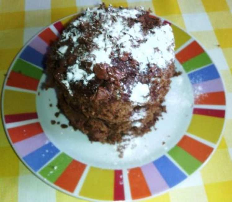 Brownie de Chocolate en Microondas