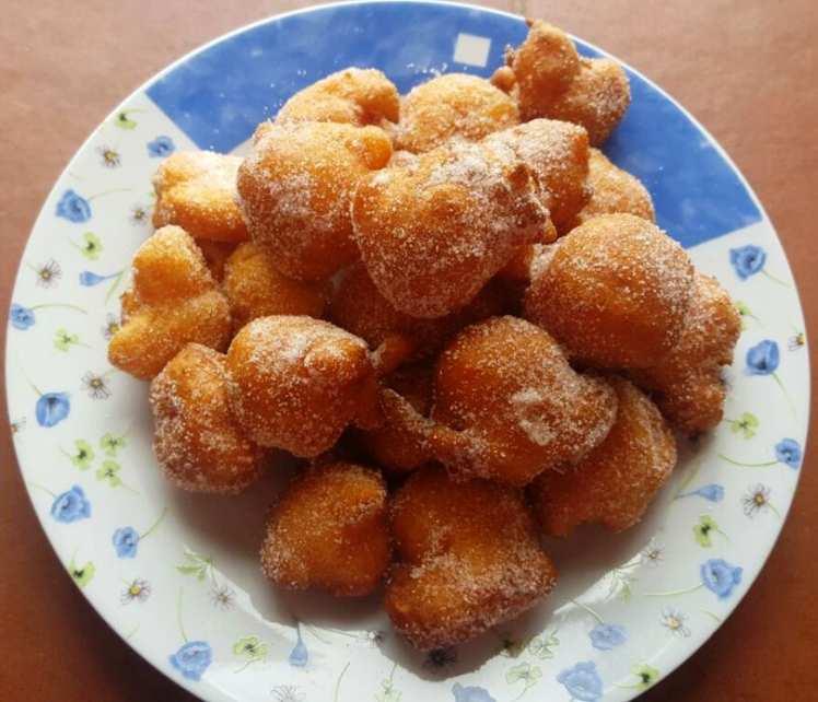 Buñuelos Dulces de Calabaza