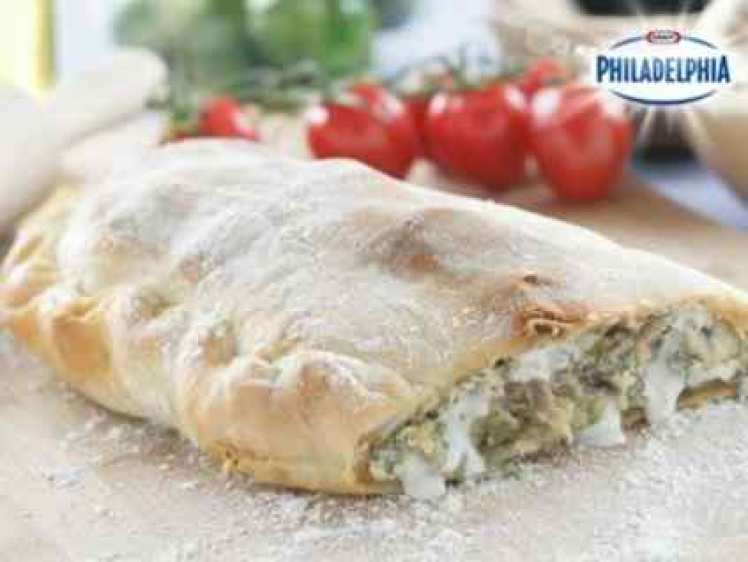Calzone Con Philadelphia Y Verduras