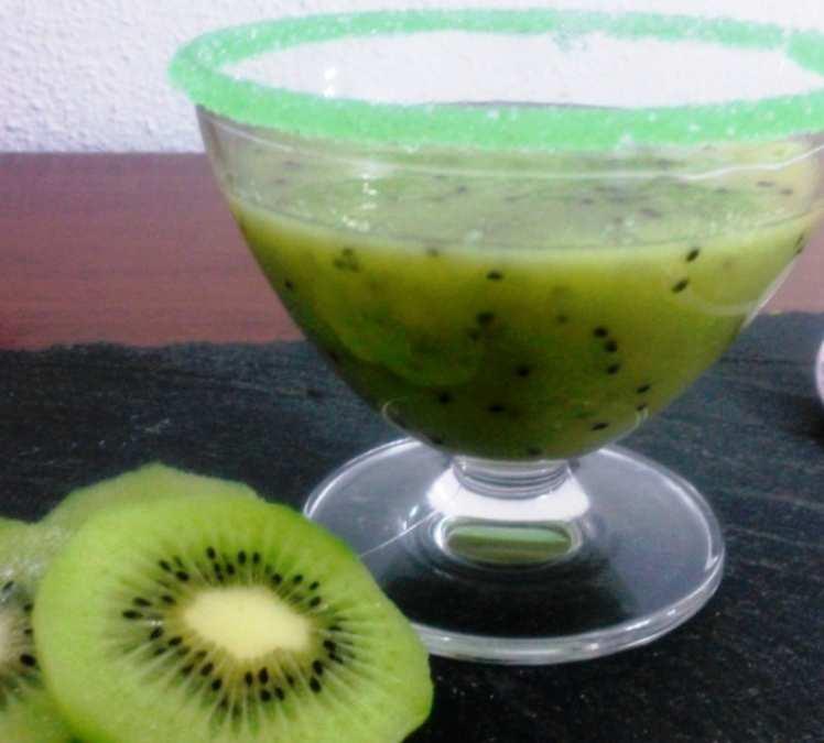 Crema de Kiwi Fría