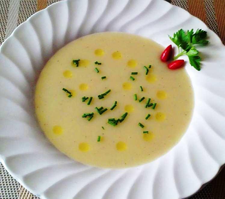 Crema de Patata y Manzana