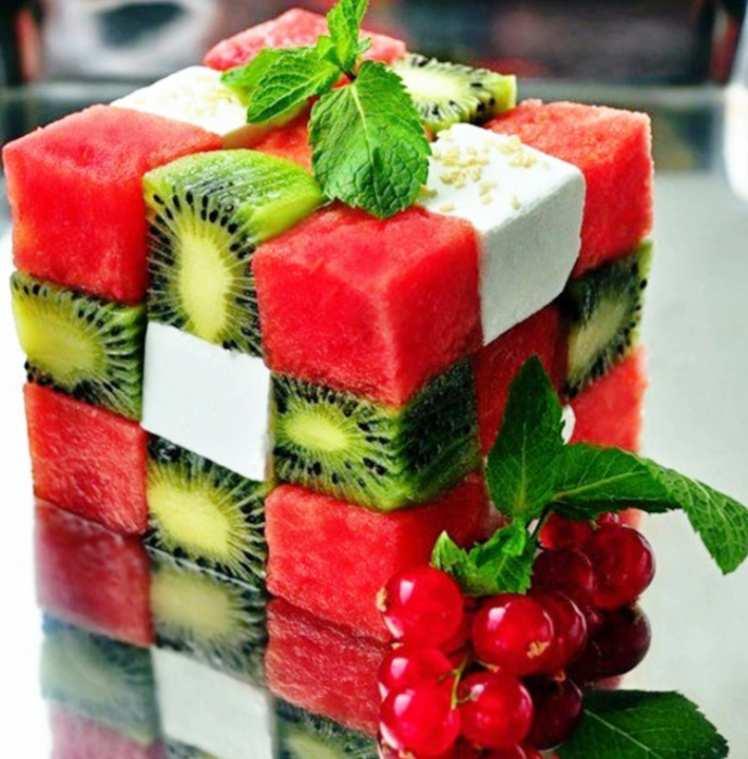 Cubo de Rubik de Frutas