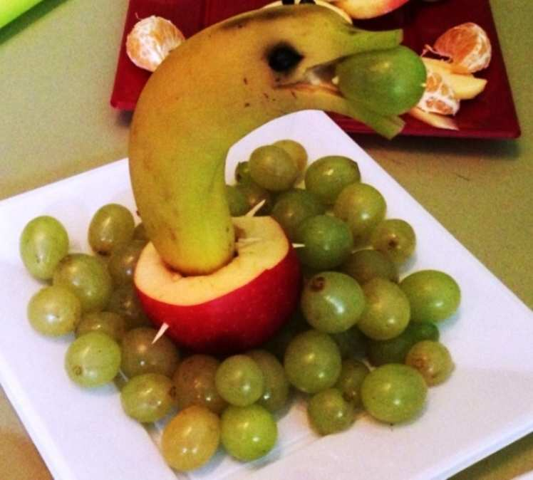 Delfín de Frutas Variadas