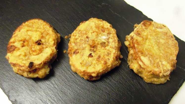 Emparedados de Patata y Setas