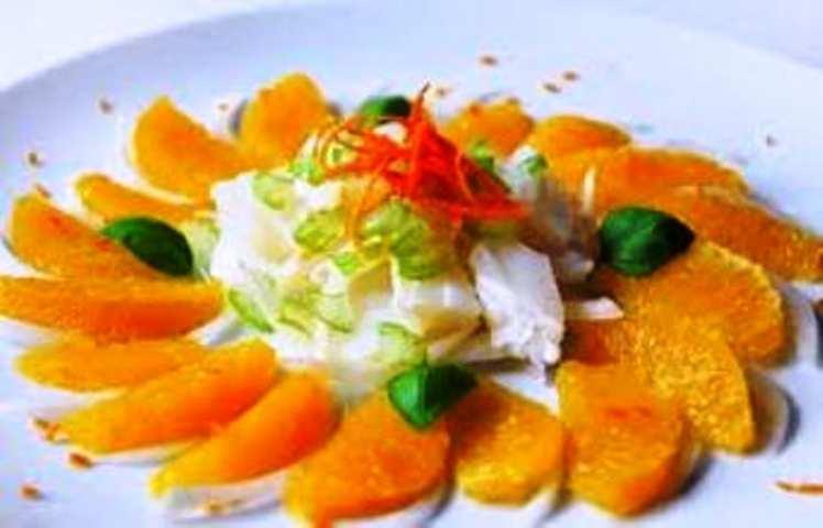 Ensalada De Bacalao Y Naranja