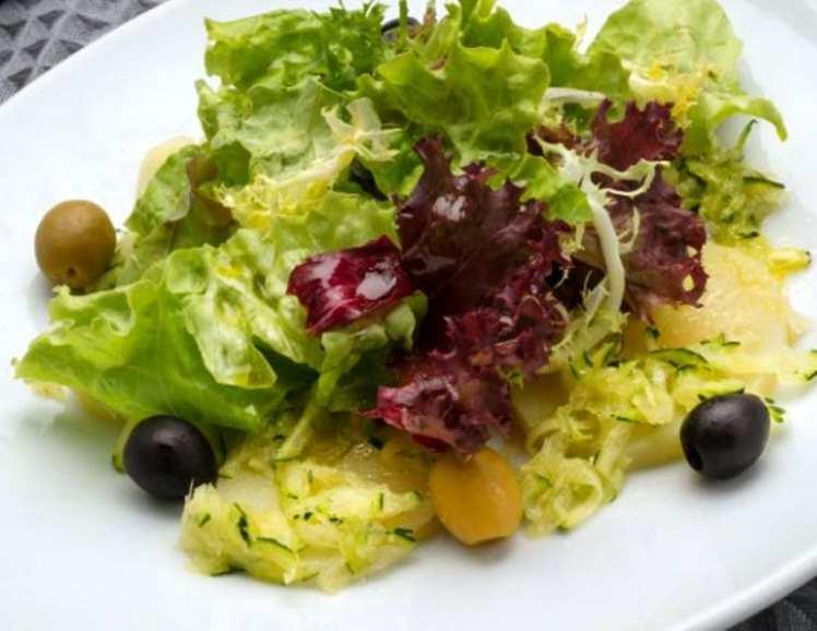 Ensalada de Patata y Aceitunas