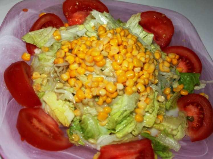 Ensalada Variada con Brotes de Soja
