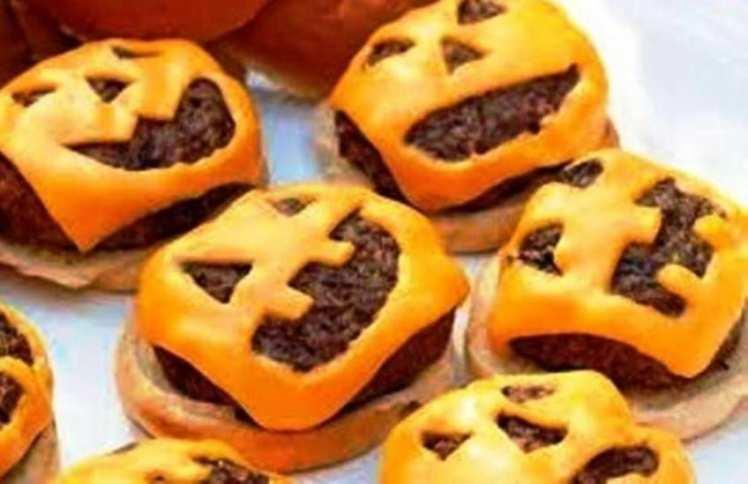 Hamburguesas de Halloween