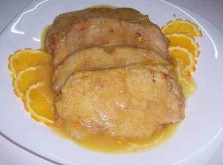 Lomo De Cerdo Relleno A La Naranja
