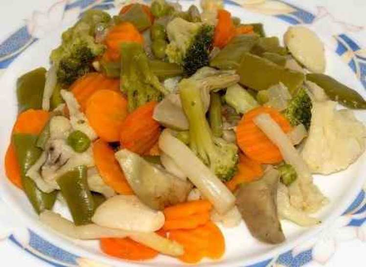 Menestra De Verduras A La Vinagreta
