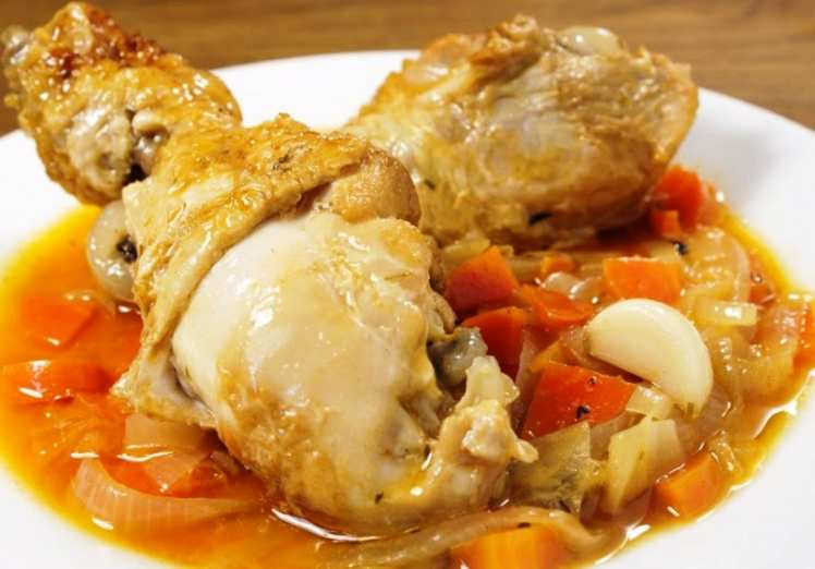 Muslitos de Pollo en Escabeche