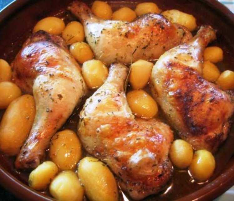 Muslos de Pollo Especiados