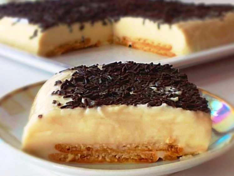 Pastel de Horchata y Queso