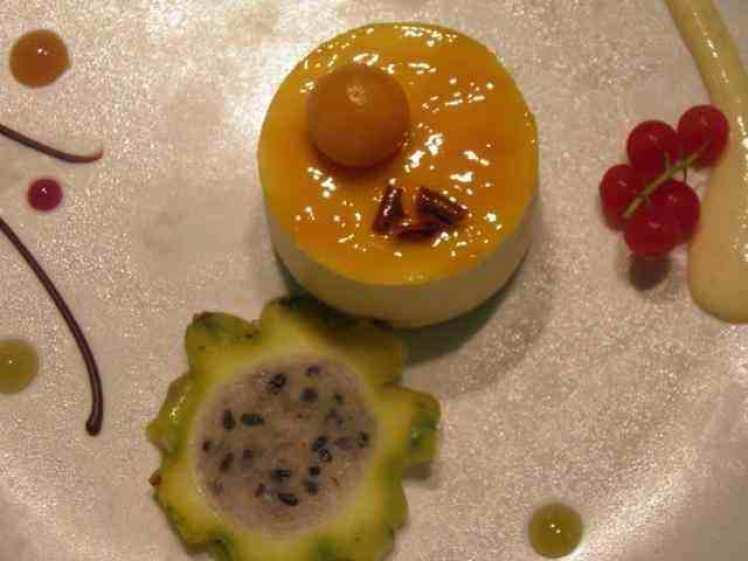 Pastel De Limón Con Kiwi