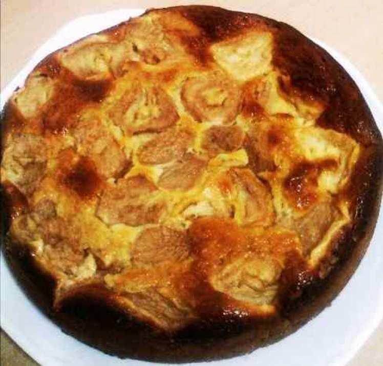 Pastel De Peras Y Manzanas