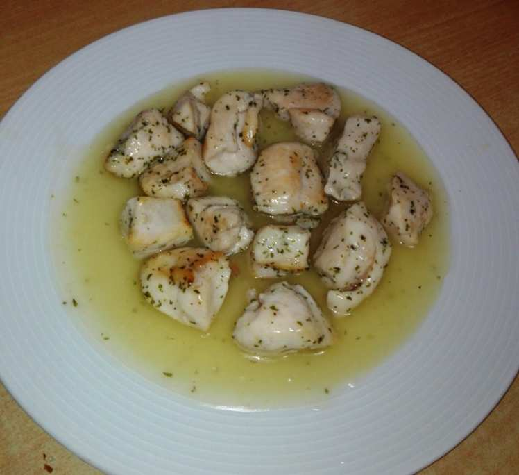 Pechuga de Pollo con Salsa de Limón