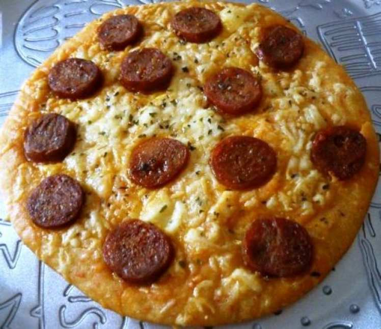 Pizza de Patatas a la Riojana